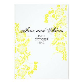 黄色い結婚式 カード