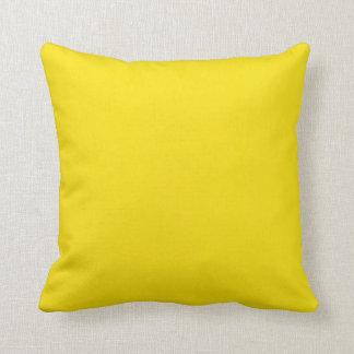 黄色い背景 クッション