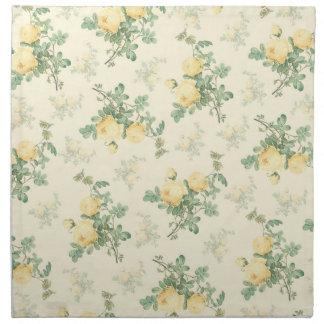 黄色い花の布のナプキンの一定の家の台所ギフト ナプキンクロス