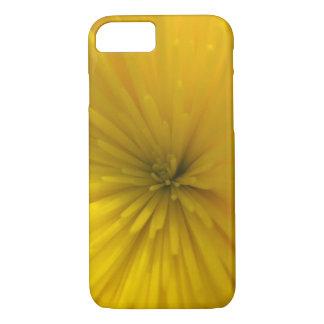 黄色い花の破烈 iPhone 8/7ケース