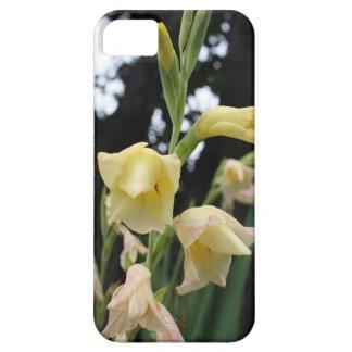 黄色い花の芽及び開花の中国人の花 iPhone SE/5/5s ケース