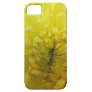 黄色い花の電話皮 iPhone SE/5/5s ケース