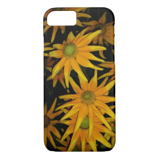 黄色い花のiPhone 7の箱 iPhone 8/7ケース