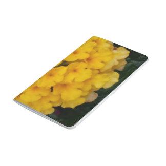 黄色い花房小型ジャーナル ポケットジャーナル