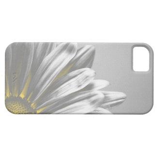 黄色い花柄のハイライトのiPhone 5の穹窖 iPhone SE/5/5s ケース