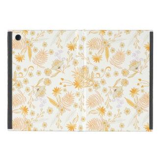 黄色い花模様 iPad MINI ケース