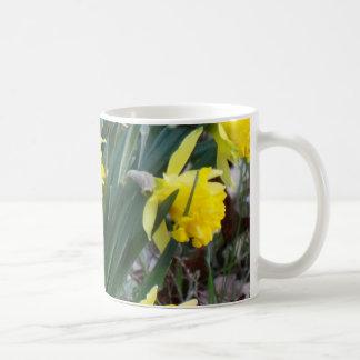 黄色い花 コーヒーマグカップ