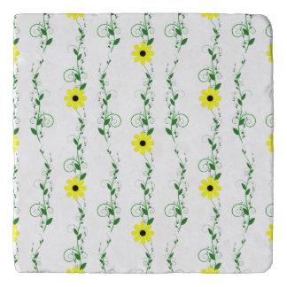 黄色い花 トリベット