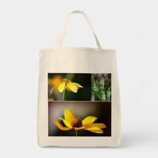 黄色い花 トートバッグ