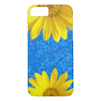 黄色い花 iPhone 8/7ケース
