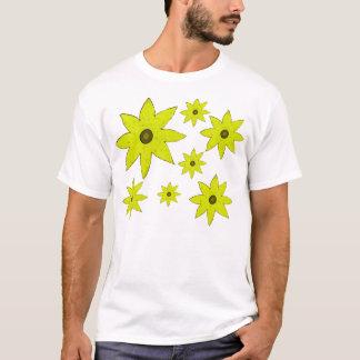 黄色い花 Tシャツ