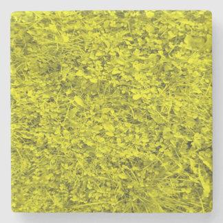 黄色い草 ストーンコースター