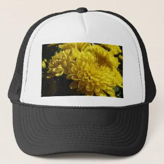 黄色い菊 キャップ
