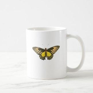 黄色い蝶 コーヒーマグカップ