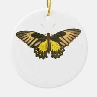 黄色い蝶 セラミックオーナメント