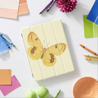 黄色い蝶-ヴィンテージのファインアートのiPadカバー iPadスマートカバー
