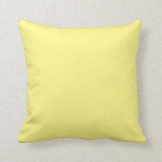 黄色い装飾用クッション クッション