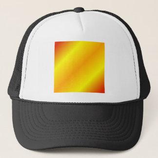 、黄色い赤い、D2二本線の勾配-オレンジ キャップ