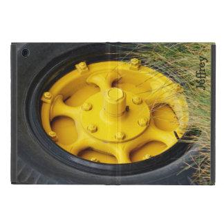 黄色い車輪、iPad Miniのフォリオの場合 iPad Mini ケース