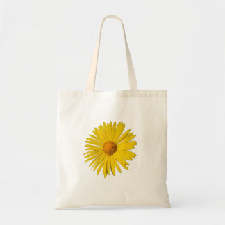 黄色い野生の花のトートバック トートバッグ
