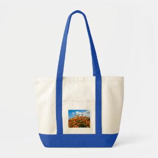 黄色い野生の花 トートバッグ