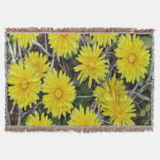 黄色い野生花 スローブランケット