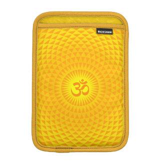 黄色い金日曜日のはすの花の黙想の車輪OM iPad MINI用スリーブ
