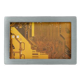 黄色い電子回路board.JPG 長方形ベルトバックル