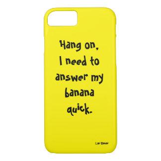 黄色い電話カバー iPhone 8/7ケース