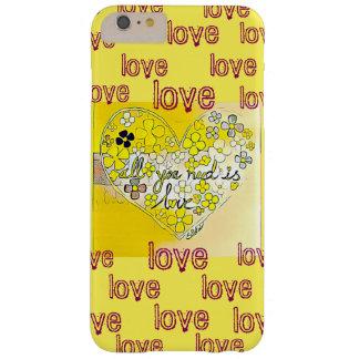 黄色い電話箱 BARELY THERE iPhone 6 PLUS ケース