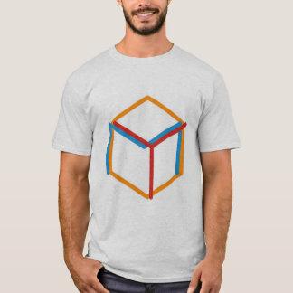 黄色い魔法のオーケストラの六角形のロゴのワイシャツ Tシャツ