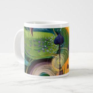 黄色い鳥のマグ ジャンボコーヒーマグカップ