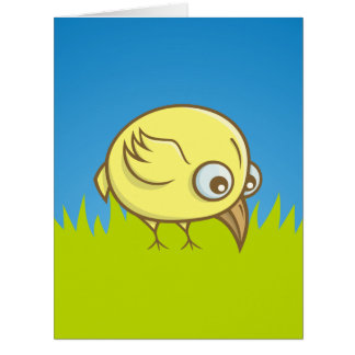 黄色い鳥の漫画 カード