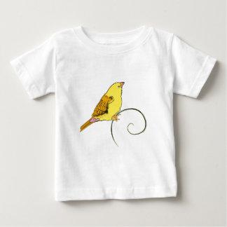 黄色い鳥 ベビーTシャツ