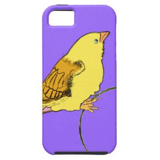 黄色い鳥 iPhone SE/5/5s ケース
