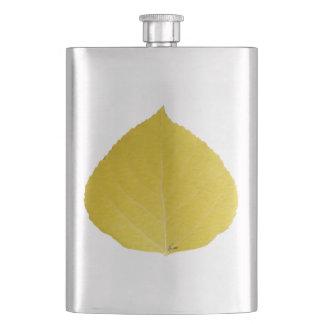 黄色い《植物》アスペンの葉#5 フラスク