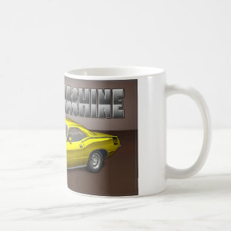 黄色いBarracuda.jpg コーヒーマグカップ