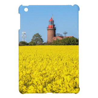 黄色いcanola分野が付いているBastorfの灯台 iPad Mini カバー