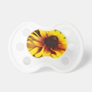 黄色いConeflower おしゃぶり