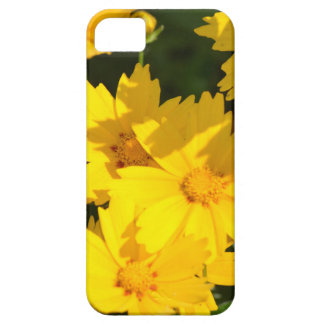 黄色いCoreopsis iPhone SE/5/5s ケース