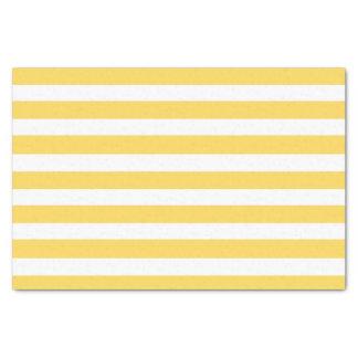 黄色いDeckchairは縞で飾ります 薄葉紙