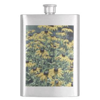 黄色いEchinaceaの花 フラスク