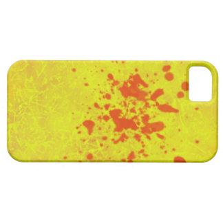 黄色いiphoneの場合 iPhone 5 cover