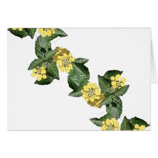 黄色いLantana カード