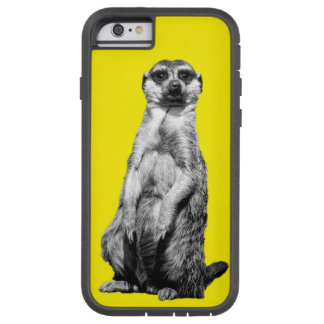 黄色いMeerkat Tough Xtreme iPhone 6 ケース
