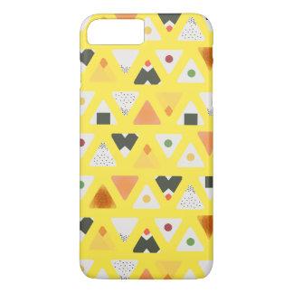 黄色いONIGIRIの電話箱 iPhone 8 PLUS/7 PLUSケース