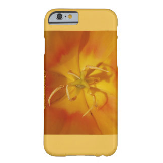 黄色およびオレンジチューリップのiPhone 6 Barely There iPhone 6 ケース