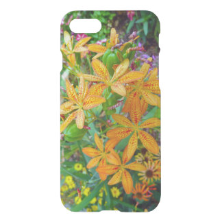 黄色およびオレンジユリの庭のiPhoneの箱 iPhone 8/7 ケース
