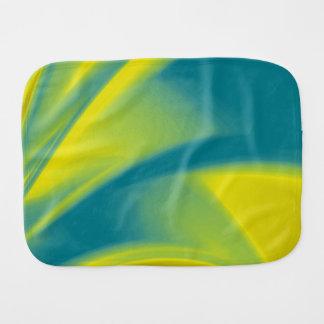 黄色およびティール(緑がかった色) バープクロス