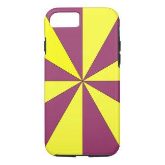 黄色および紫色 iPhone 8/7ケース